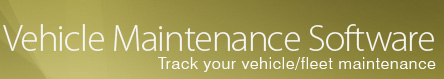 Vehicle Maintenance Software